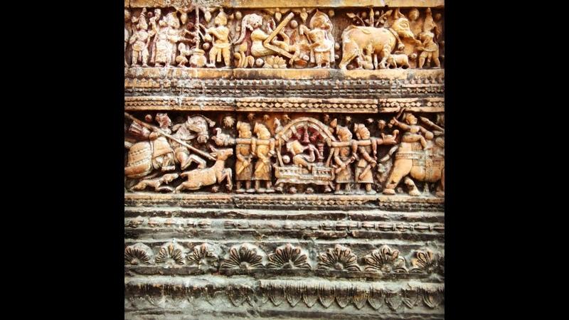 Кирпичная готика ювелирка Бангладеш Часть 1 Храм Шивы и трансформаторные подстанции
