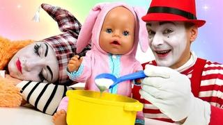 Видео куклы БЕБИ БОН – Кто лучше Как Мама для Baby Born! - Весёлые игры Дочки Матери