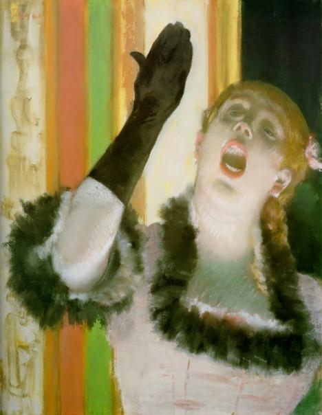 «Певица с перчаткой», Эдгар Дега
