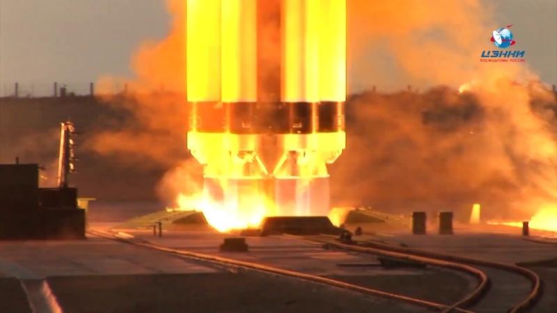 Космическая увертюра ракеты Протон-М