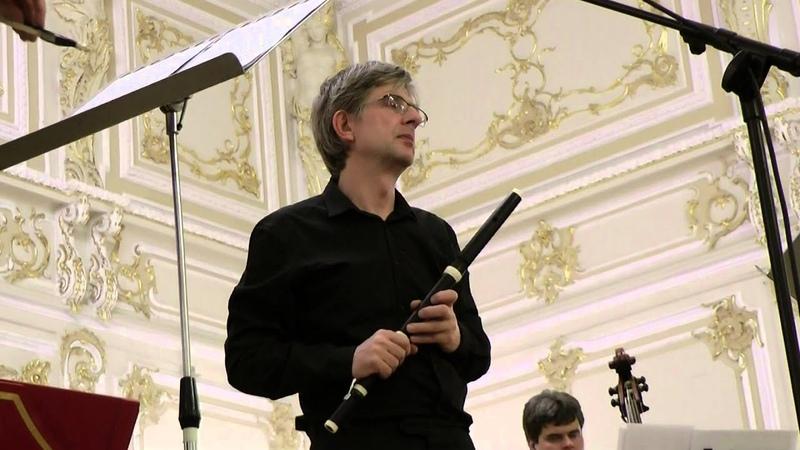 Benedek Csalog Quantz Concerto for flute in G major n 161