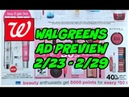 WALGREENS AD PREVIEW 2 23 2 29 COFFEE MAKEUP TOOTHPASTE MORE