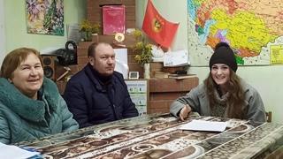 СССР 09 2021 Солнечный круг небо вокруг