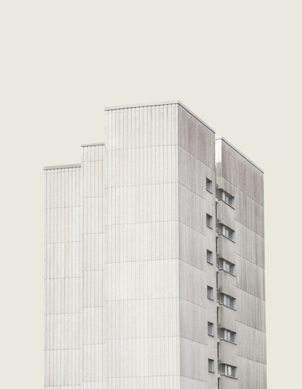 An Abstract View On Helsinki's Mundane Buildings