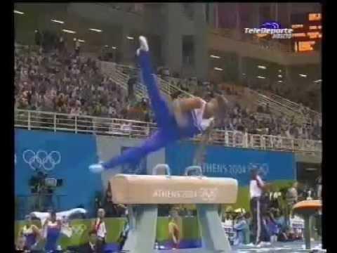 Alexei Nemov RUS Pommel Horse TF @ Athens Olympic Games 2004