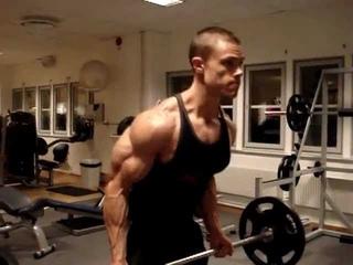 Heavy biceps curls 65 kg,short vid,but look at his pumped biceps ,part1