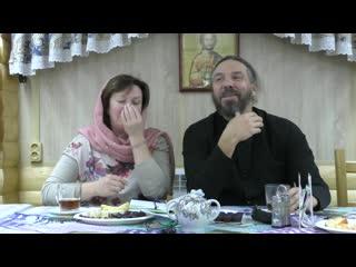 Секреты семейного счастья: протоиерей Евгений и матушка Ольга Попиченко