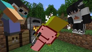 Minecraft Speedrunner VS 2 Assassins