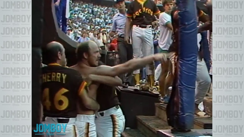 The Braves and Padres brawl multiple times in one game back in 1984, a breakdown