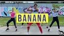 Conkarah - BANANA feat. Shaggy, DJ Fle, Minisiren Remix - Tik Tok Challenge by Lessier Herrera Zumba