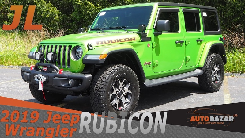 Новый 2019 Jeep Wrangler JL Rubicon видео Обзор Нового Джип Вранглер Рубикон 2019 на Русском