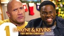 Dwayne Johnson and Kevin Hart's Very British Christmas VERY STRONG LANGUAGE