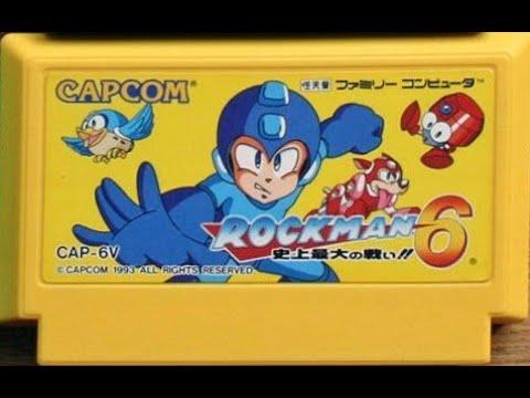 Dendy Famicom Nintendo Nes 8 bit MegaMen RockMan 6 part Long Play