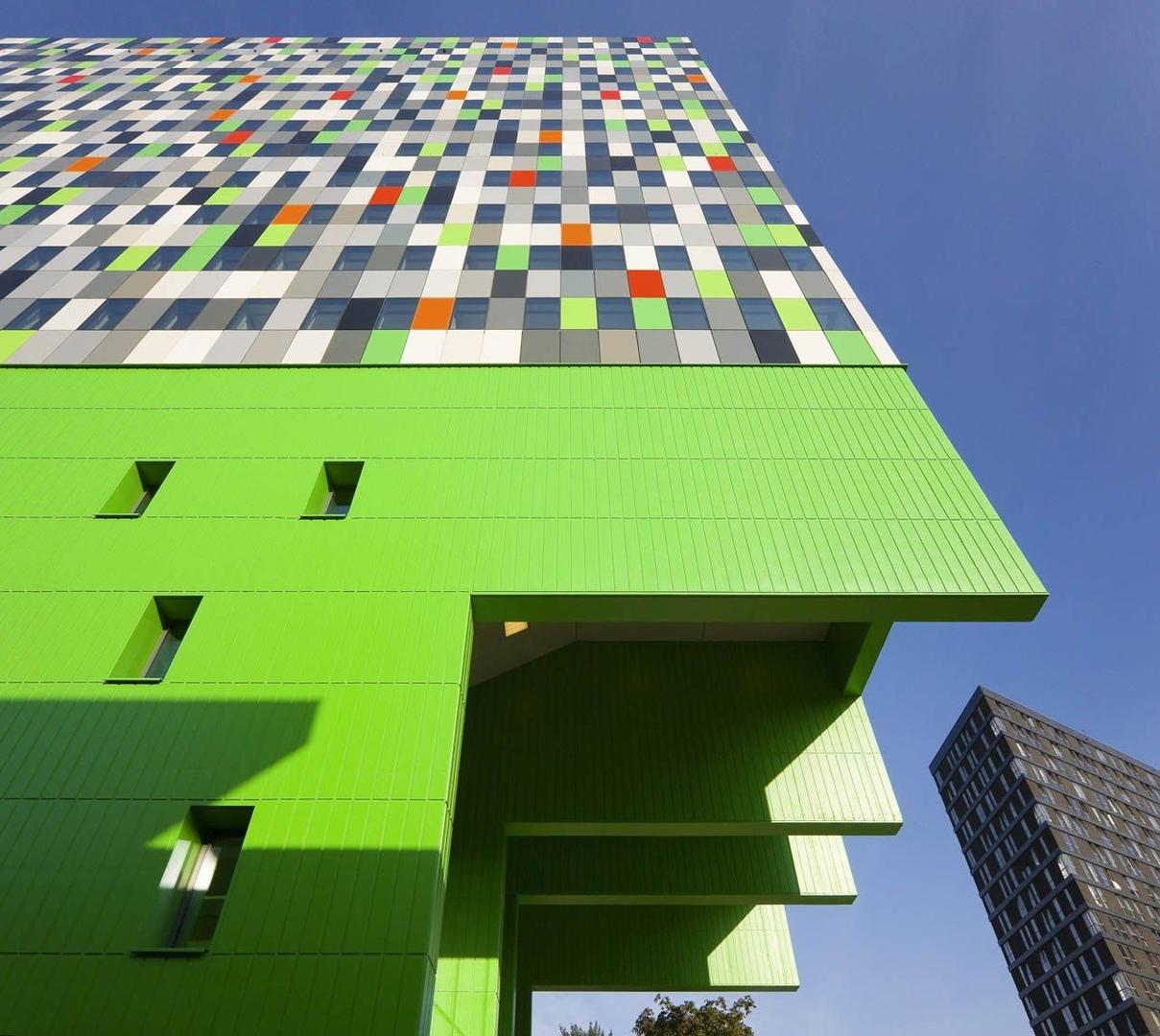 Architectenbureau Marlies Rohmer / 380 Student Units and Public Space Design