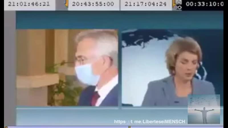 Heimlich gedrehtes Video Oberbürgermeister von Frankfurt hätte eigentlich gerne die Maske aufbehalten aber nicht wegen Corona