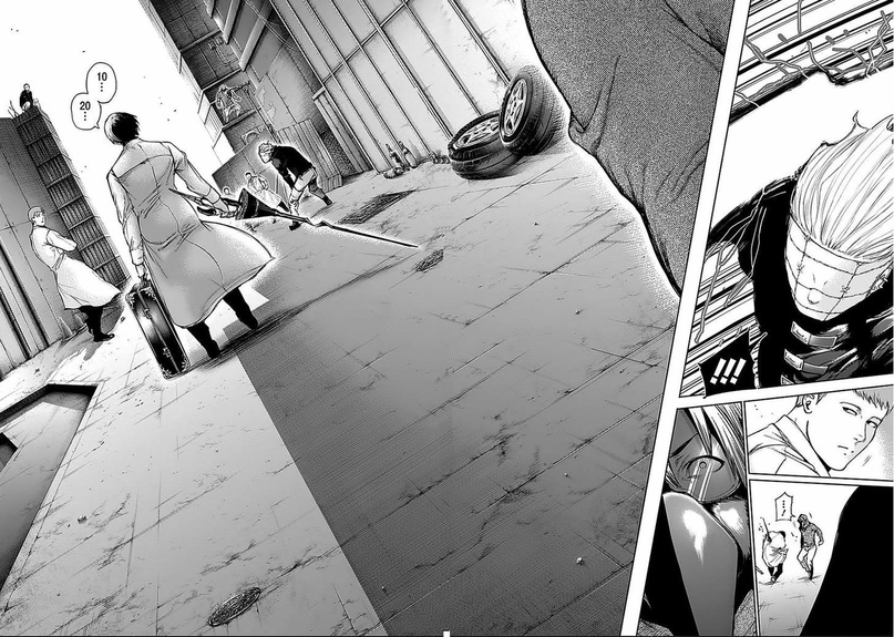 Tokyo Ghoul, Vol. 12 Chapter 112 Lights Out, image #21