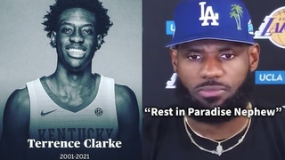 NBA Players React to the Death of Terrence Clarke