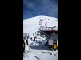 Out of Control Chairlift in Gudauri