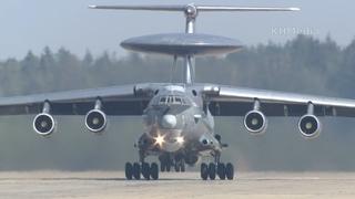 вылет А-50 серый RF-50602 Кубинка 2020