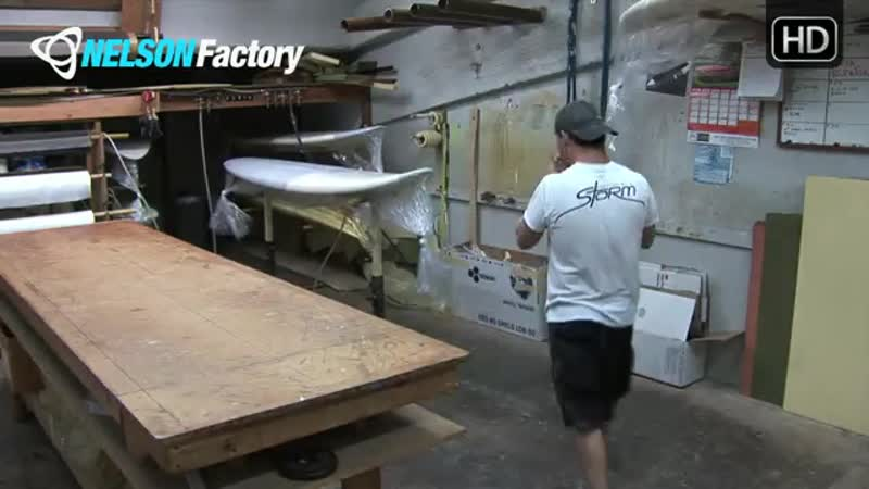 Nelson Factory Windsurfing Custom Boards No. 8 Part 2