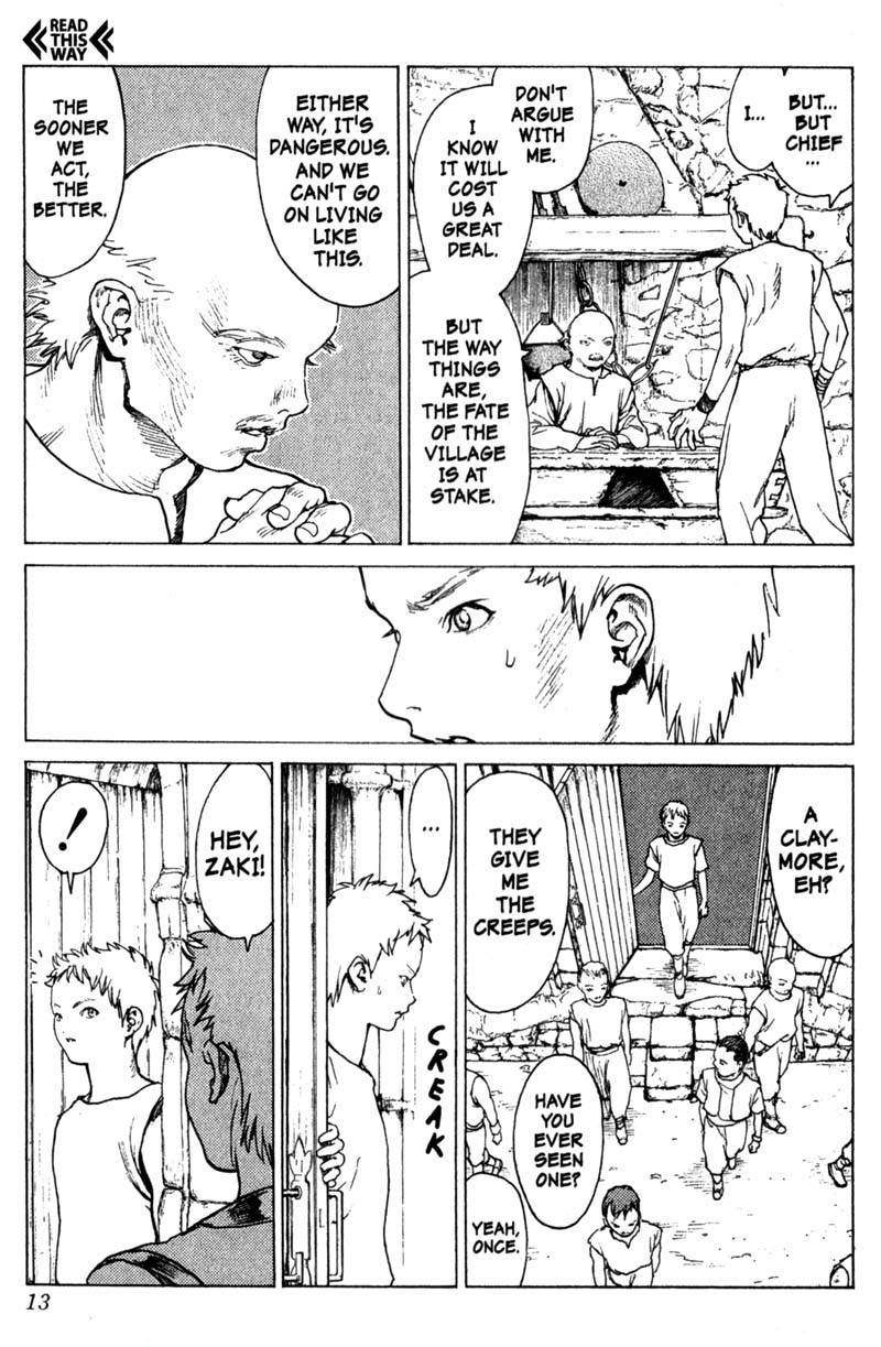 Claymore, Chapter 1, image #13