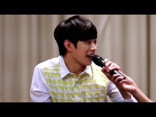 [fancam] 150404 Apgujeong Fansign, Vixx, Hong Bin
