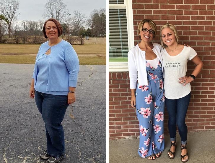 «Мама похудела на 75 кг, и только посмотрите на нее теперь!