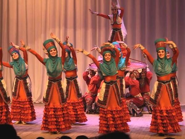 Кыргызский национальный танец Ансамбль народного танца имени Файзи Гаскарова