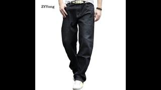 2020 новые мужские ретро мешковатые джинсы, винтажные потертые джинсовые штаны, мужские хип хоп джинсы для скейтбординга,