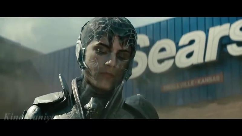 Супермен Первая схватка Человек из стали Superman The first fight Man of Steel