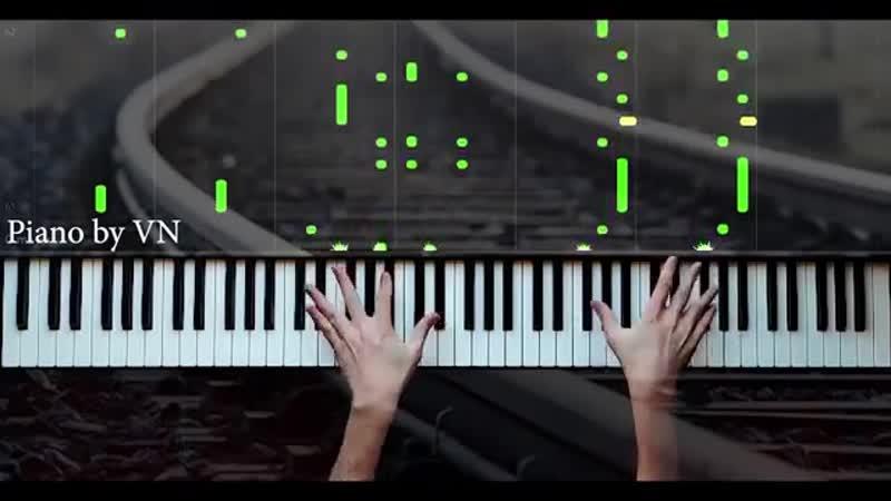 Şəfa Sevgi Qatarı Aşk Treni Piano by VN 360P mp4