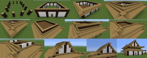 как построить красивый дом а майнкрафте #11