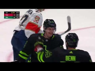 Denis Gurianov scores vs Panthers for Stars (2021)