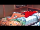 BBB18 - Lucas dormindo de pau duro