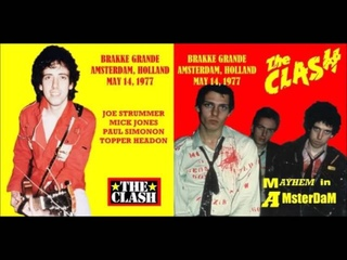 The Clash - Live In Amsterdam, 1977 (Full Concert!)