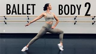 BALLET BODY SCULPT 2 | Home Workout | No Jumping| No Equipment