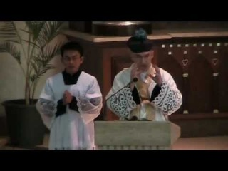 Solemn High Mass at Holy Family Parish, Quezon City, Philippines