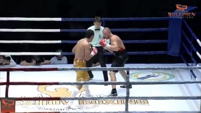 Соңғы жекпе жекте алғаш рет 10 раунд бокстастық Аллаһ қалауымен жеңіске жеттік Қарсылас 1 azaqstan