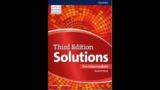 Solutions Pre-Intermediate 3rd edition Тема 1 Урок 1 Сторінка 4