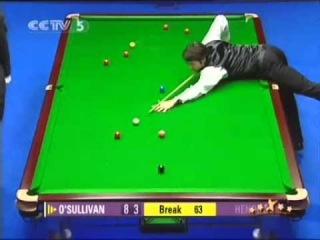 Snooker Welsh Open 2005 Final Ronnie O'Sullivan vs Stephon Hendry