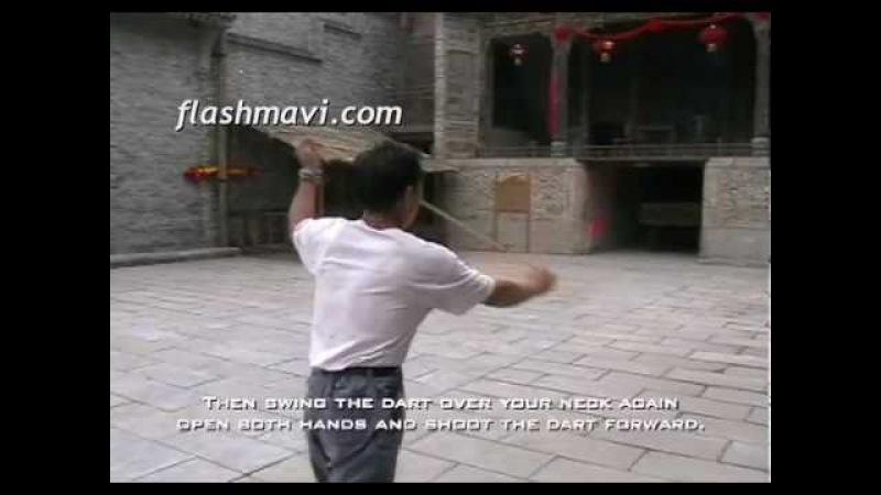 Wushu Ropedart Neck Twine Shot Lesson