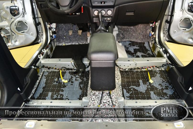 Комплексная шумоизоляция Mitsubishi ASX, изображение №4