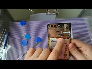 Замена Аккумулятора Huawei p9