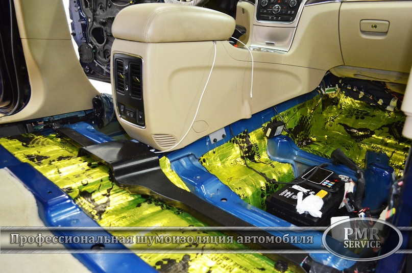 Шумоизоляция Jeep Grand Cherokee, изображение №7