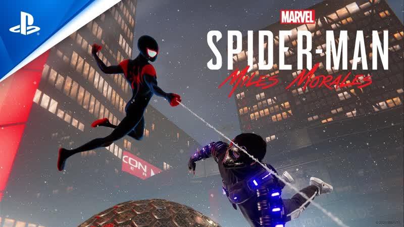 Marvel's Spider Man Miles Morales Человек паук Через вселенные Костюм
