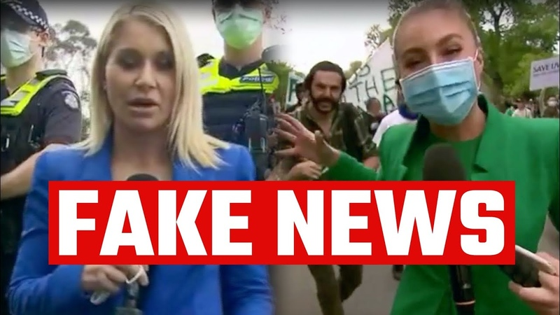 Media BUSTED lying about lockdown protest in Melbourne yesterday