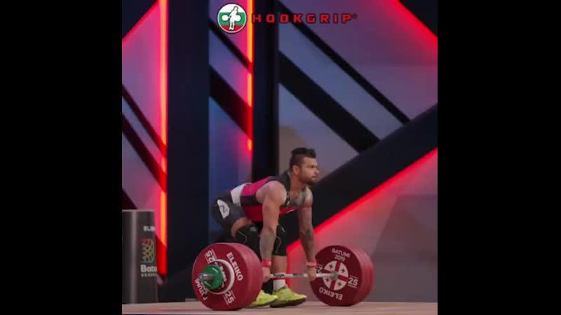 Bozhidar Andreev 192 толчок
