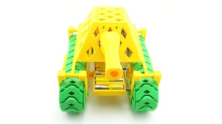 3D-printed RC Tank: Prints without support, assembles without hardware, wires without soldering