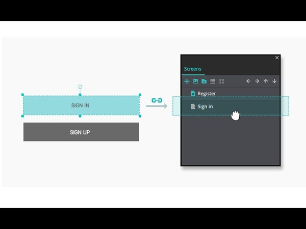 How to create links in your website and mobile wireframes