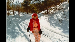 SKI CROSS COUNTRY ON ICE 79 & CRASY ME!  TRUDI TRAHAN-UPCHAN